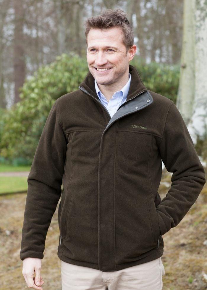 d76a4bb35d42 Schoffel Mowbray Fleece Jacket- A Hume