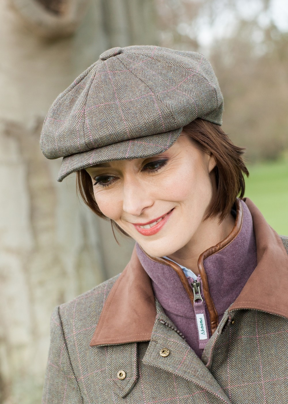 9b6f493c Schoffel Newsboy Cap - Ladies from A Hume UK