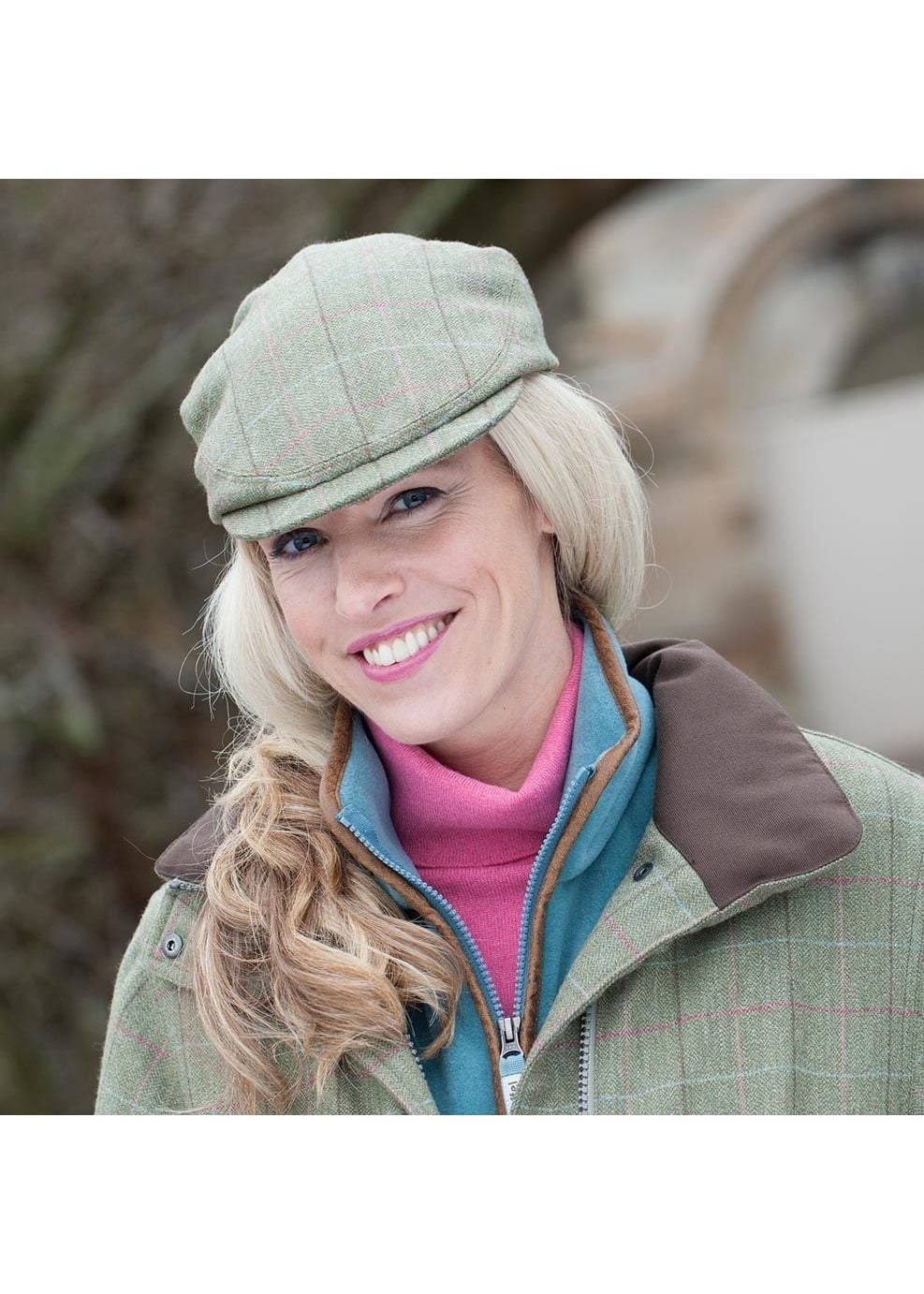Schoffel Tweed Cap  Large Image