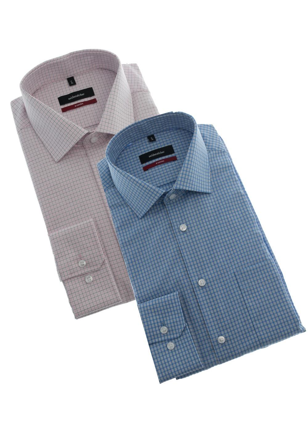 Seidensticker Classic Pure Cotton Shirt - Mens from A Hume UK df2e90b339426