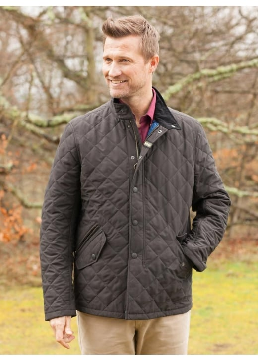 Barbour Shoveler Quilt Jacket