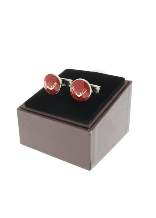 Laksen Stag's Head Cufflinks