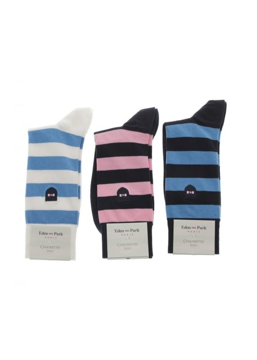Eden Park Striped Socks