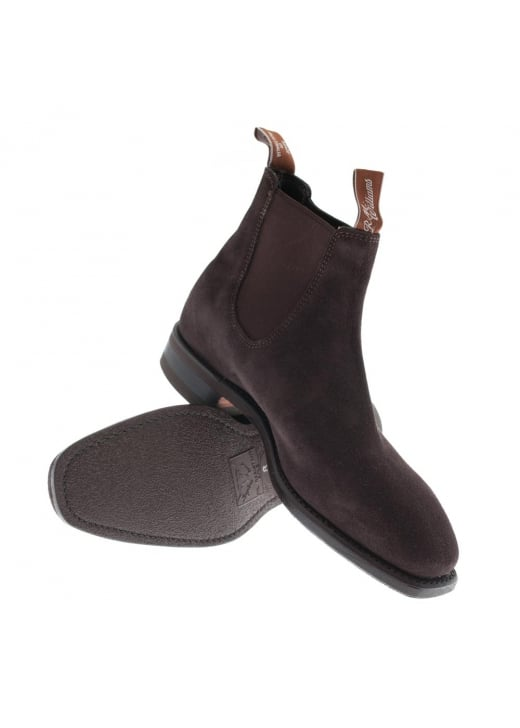 RM Williams Suede Comfort Craftsman Boots