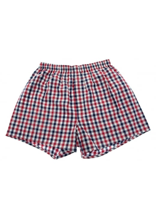 Sunspel Checked Boxers