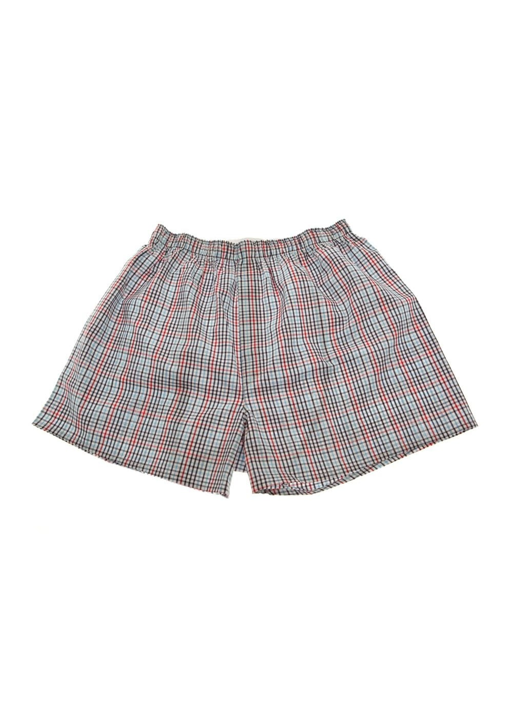 Sunspel Gingham Check Boxers  Large Image