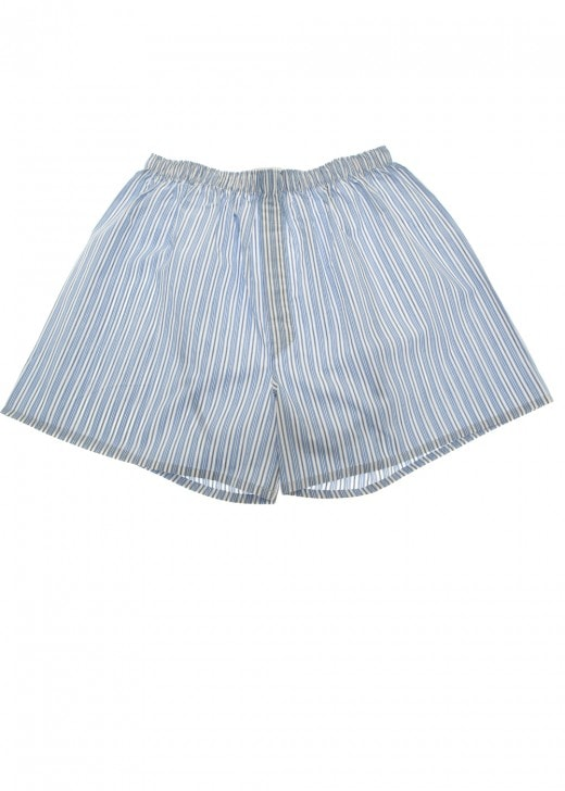 Sunspel Gingham Striped Boxers
