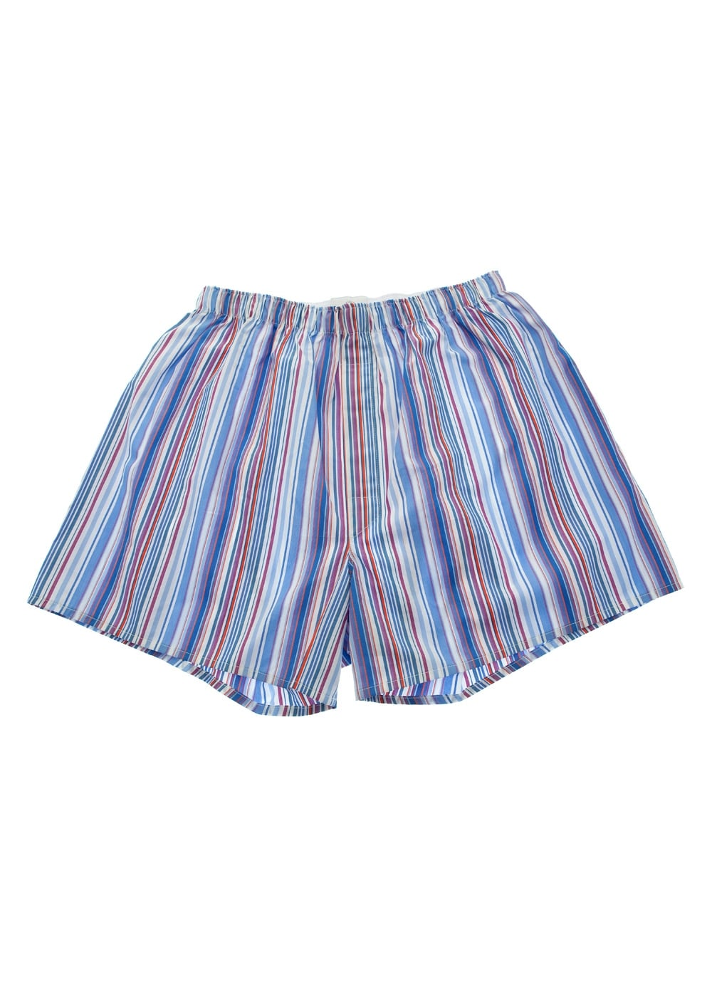 Sunspel Multi Stripe Boxers Large Image