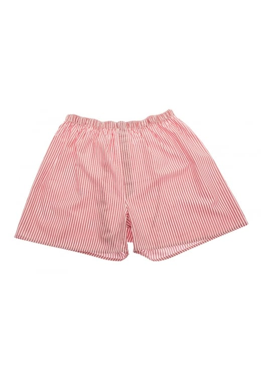Sunspel Shadow Striped Boxer Shorts