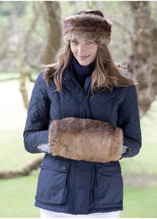 Dubarry Swords Fur Muff