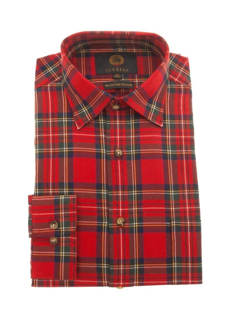 Checkered Shirts Mens