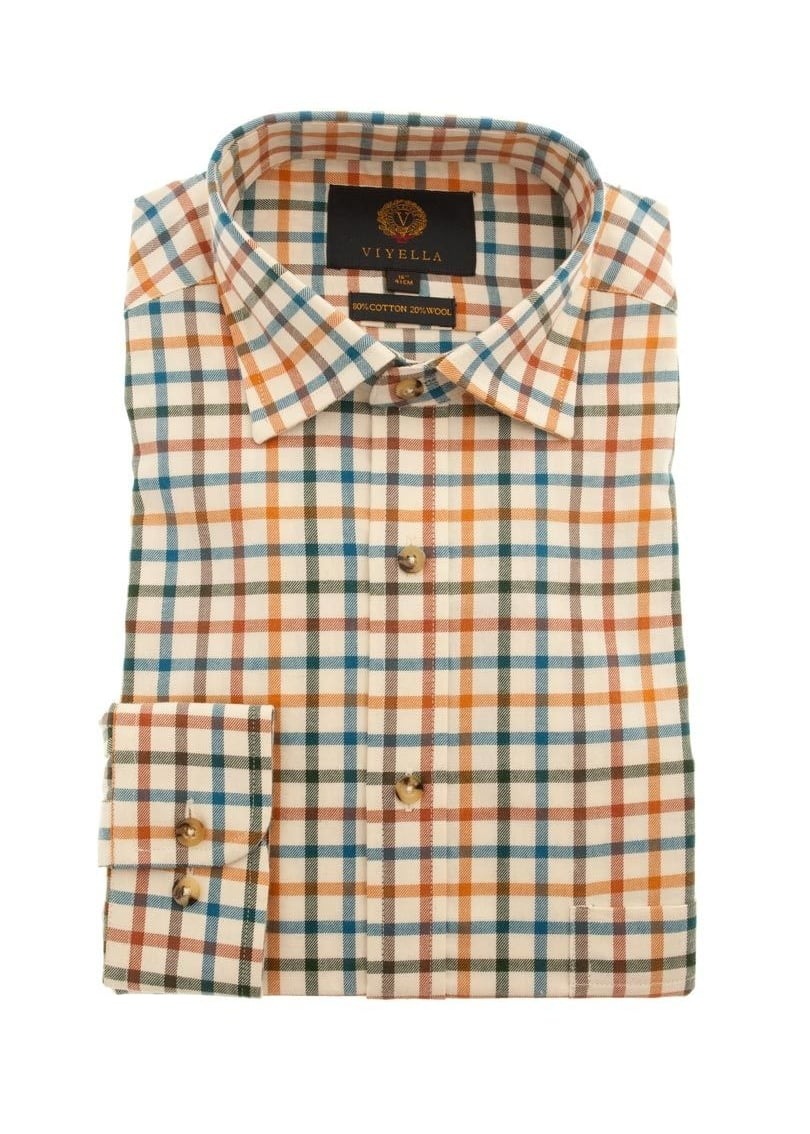 c694f24ccc Viyella Tattersall Check Shirt - Mens from A Hume UK