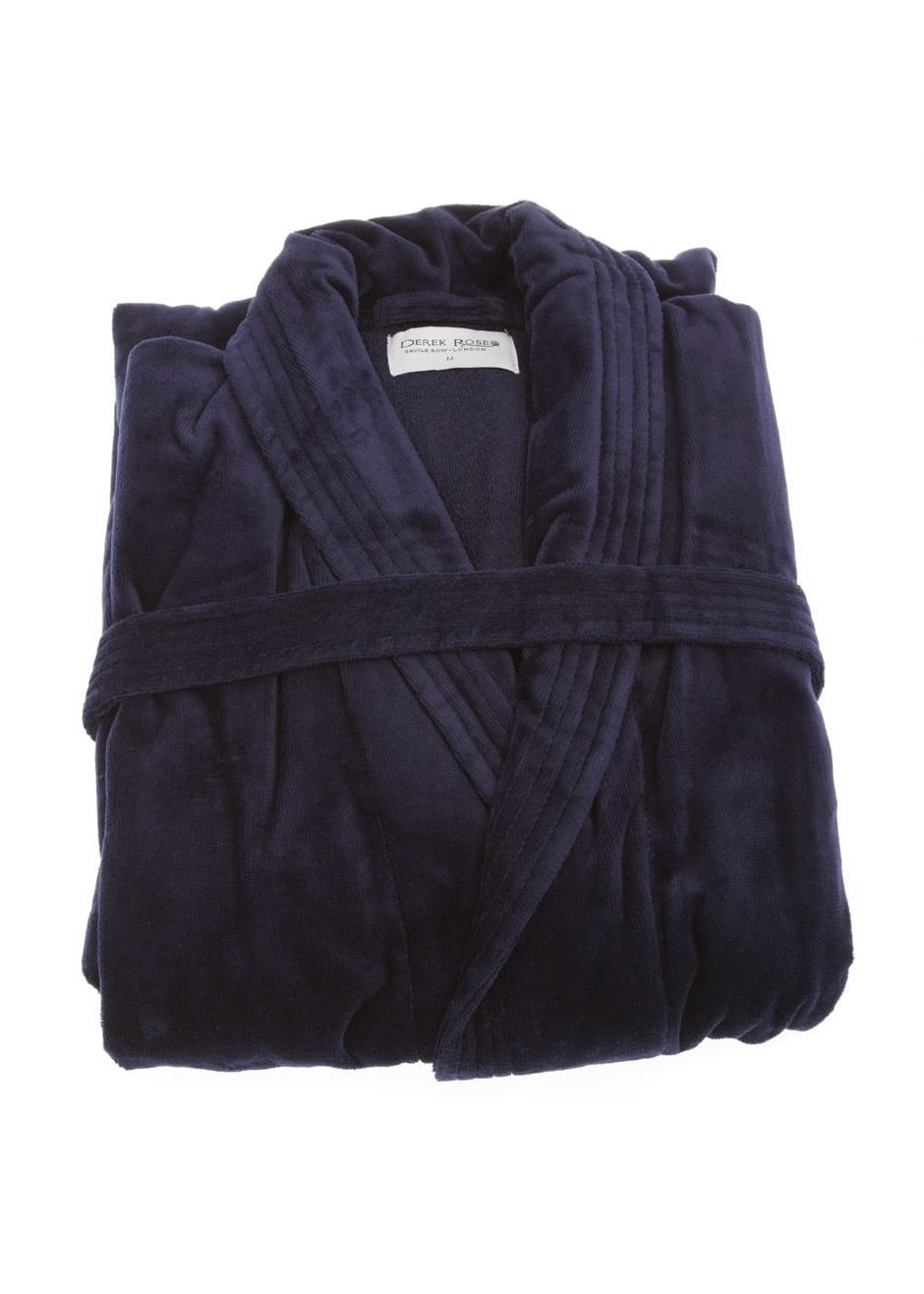 Derek Rose Triton Luxury Towelling Dressing Gown- A Hume