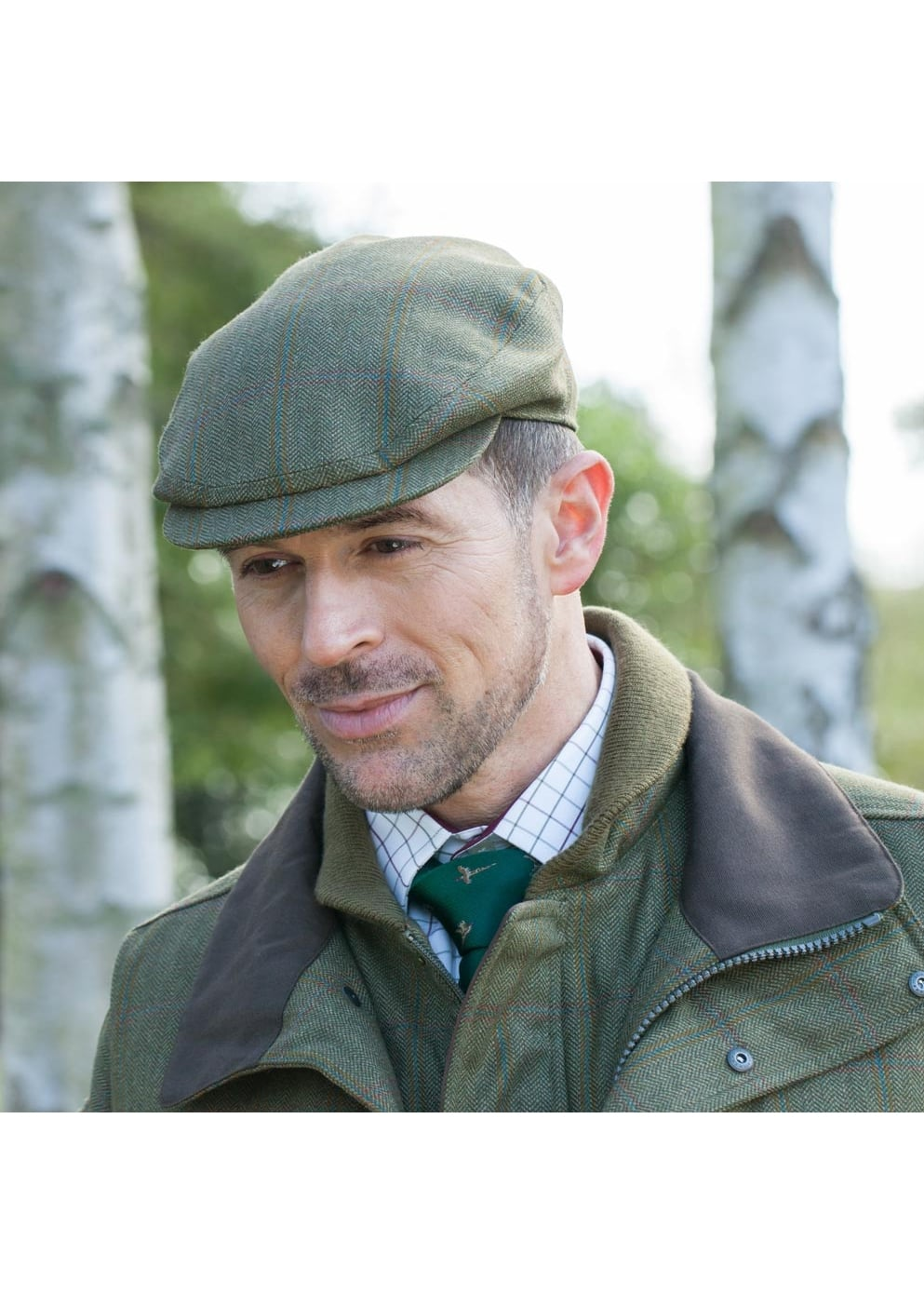 0a4bb646 Schoffel Tweed Cap - Mens from A Hume UK