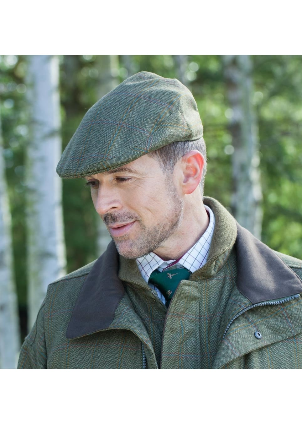 809f1b28 Schoffel Tweed Classic Cap - Mens from A Hume UK