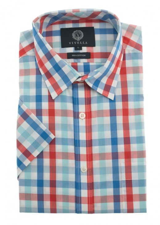 Viyella Block Check Shirt
