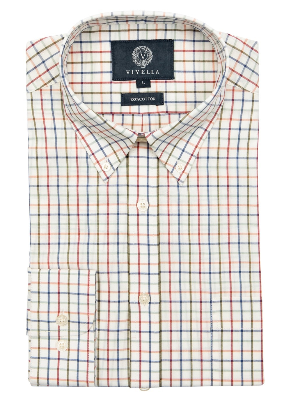 Viyella Classic Tattersall Shirt Mens From A Hume Uk