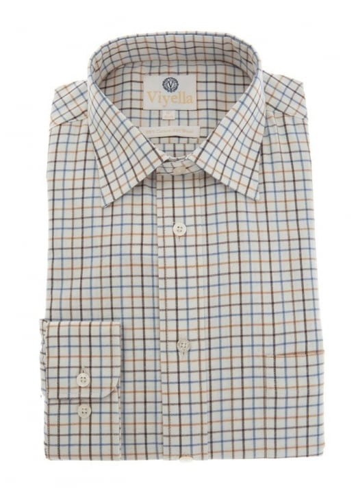 Viyella Medium Tattersall Shirt