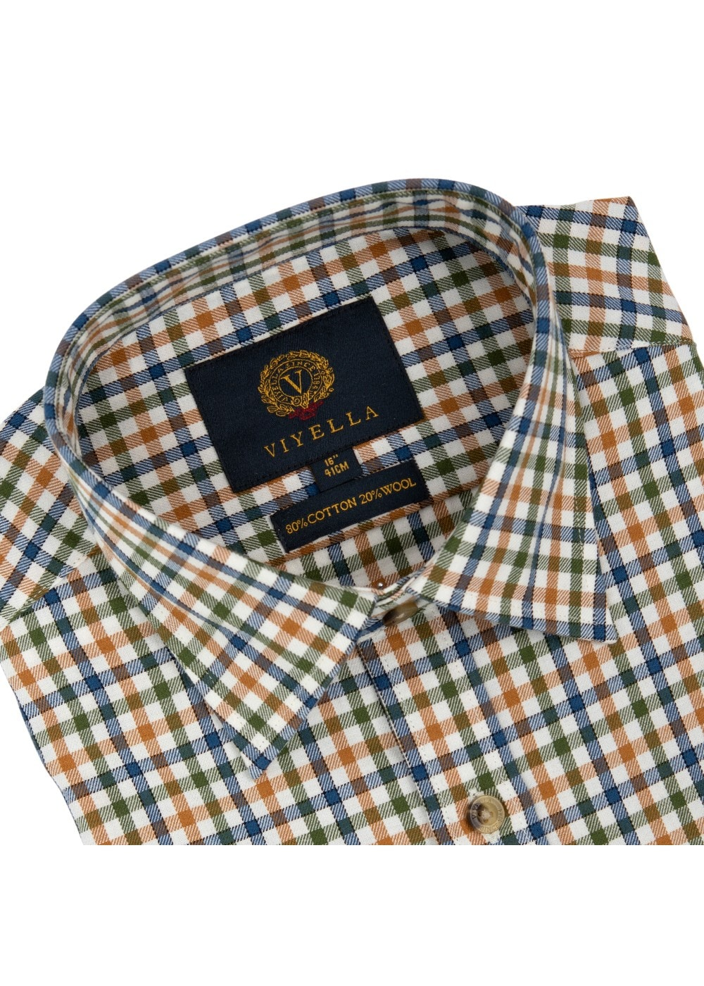Viyella Club Check Shirt Mens From A Hume Uk