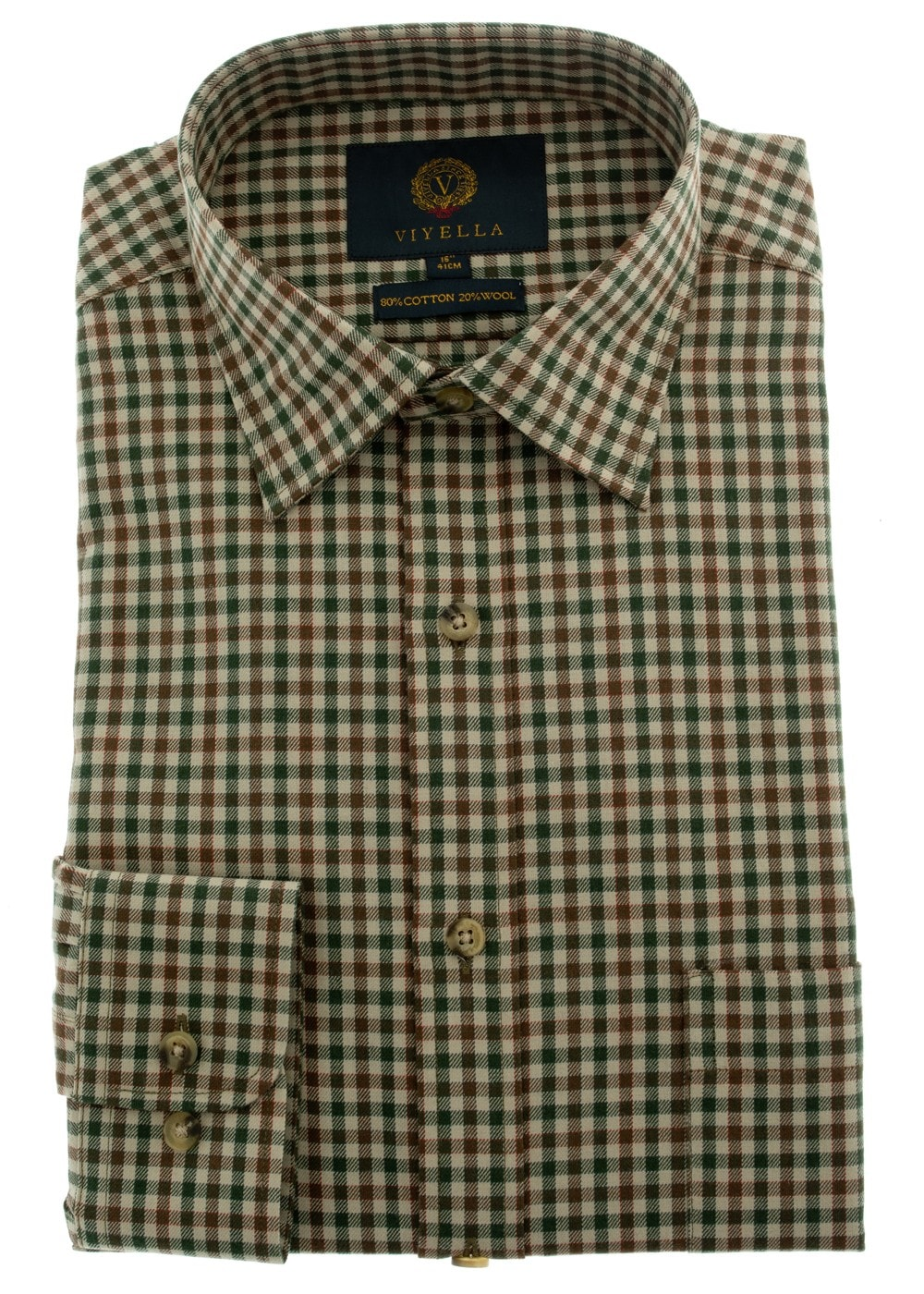 Viyella Full Colour Check Shirt Mens From A Hume Uk