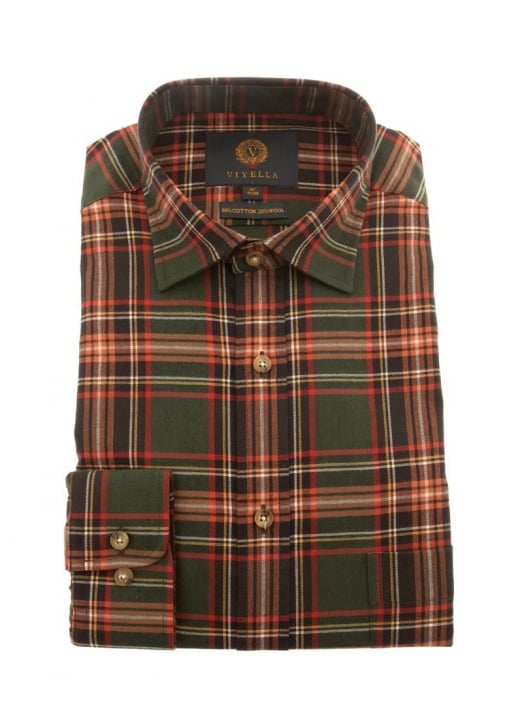 Viyella Hunting Check Shirt