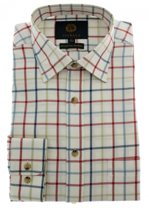 Viyella Large Tattersall Check Shirt