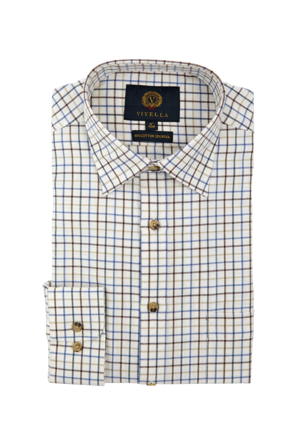 Viyella Medium Tattersall Shirt Mens From A Hume Uk