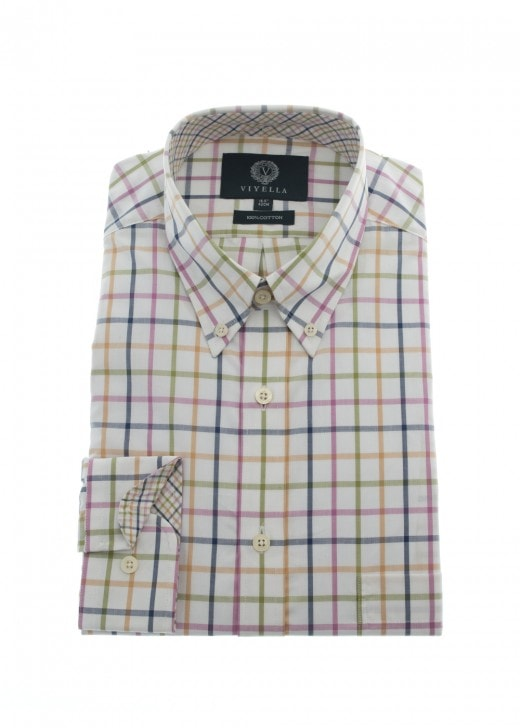 Viyella Open Check Shirt