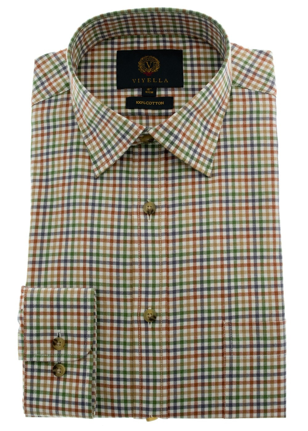 Viyella Small Club Check Shirt Mens From A Hume Uk