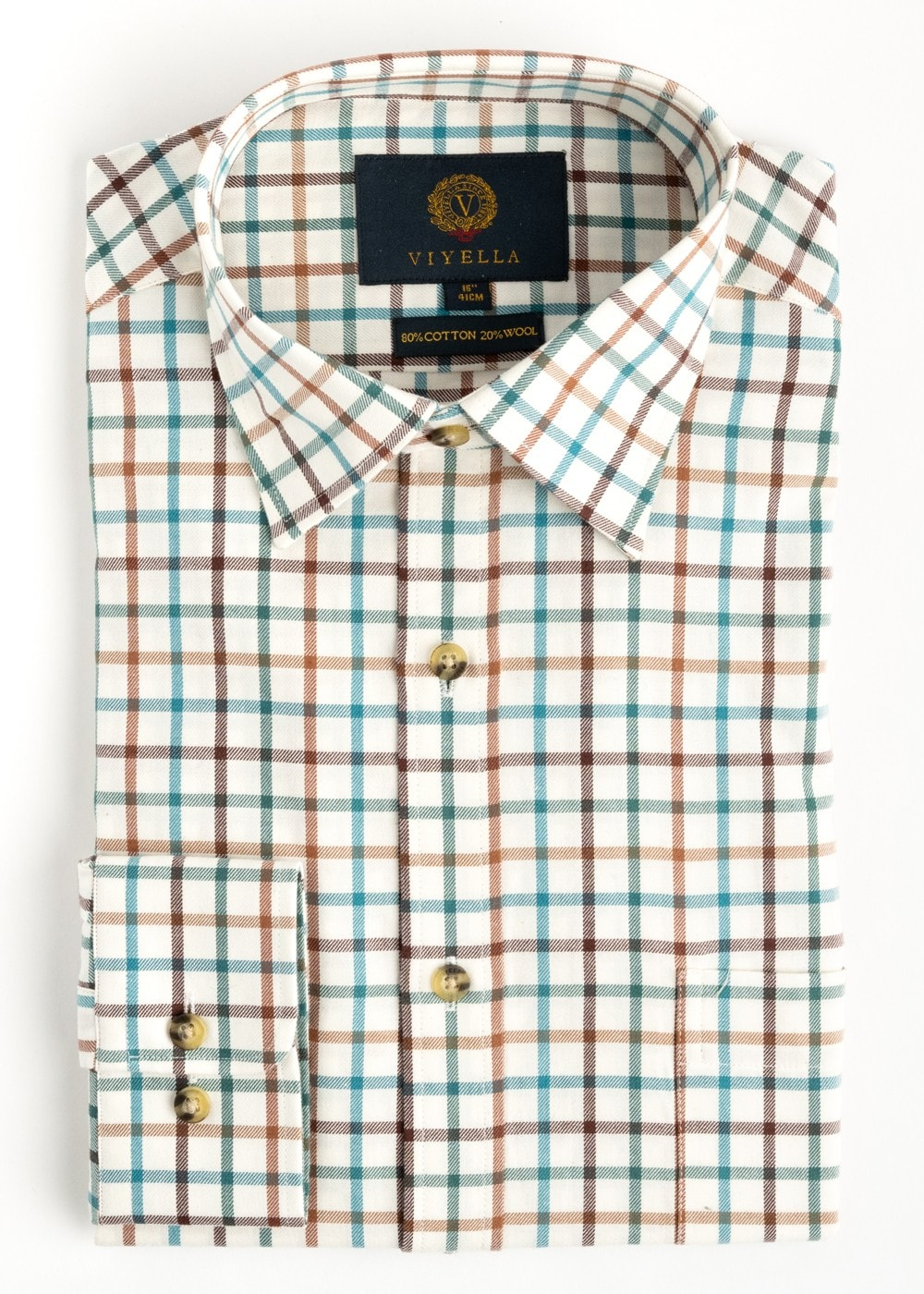 Viyella Tattersall Check Shirt Mens From A Hume Uk