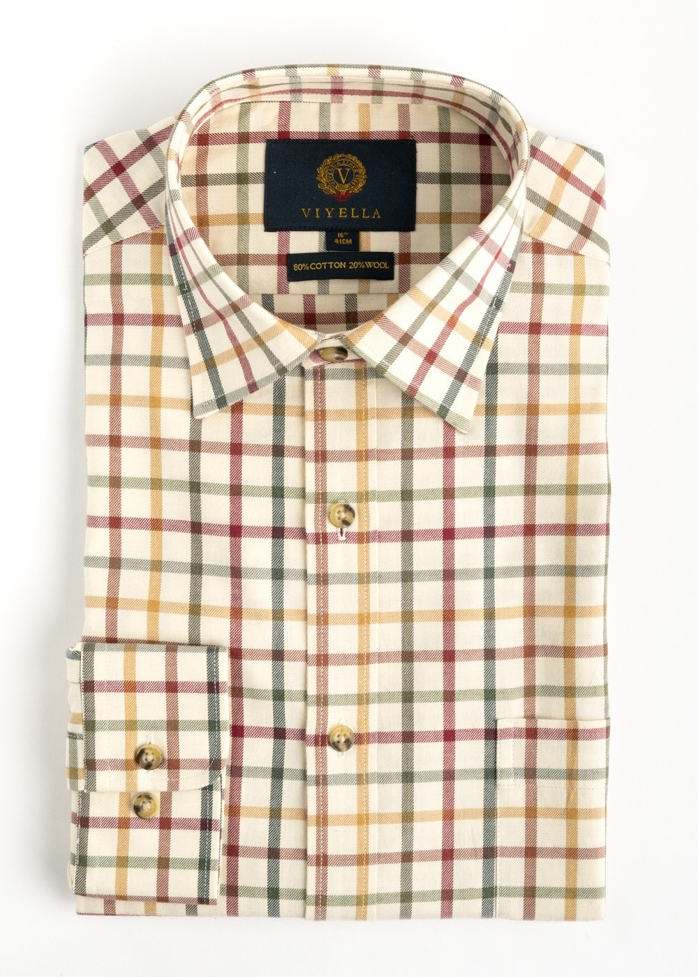 Viyella Tattersall Shirt Mens From A Hume Uk