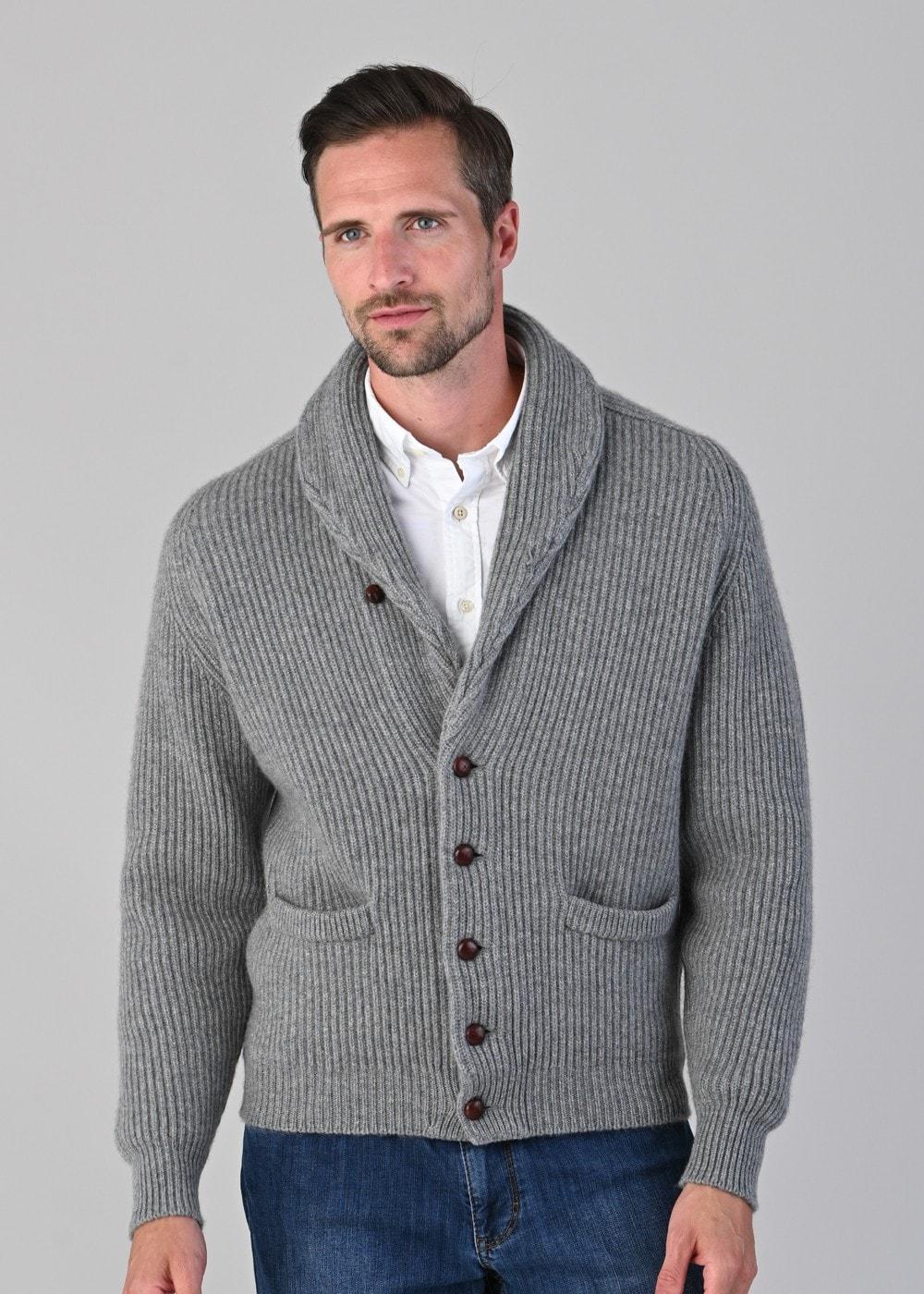 William Lockie Cashmere Windsor Shawl Jacket