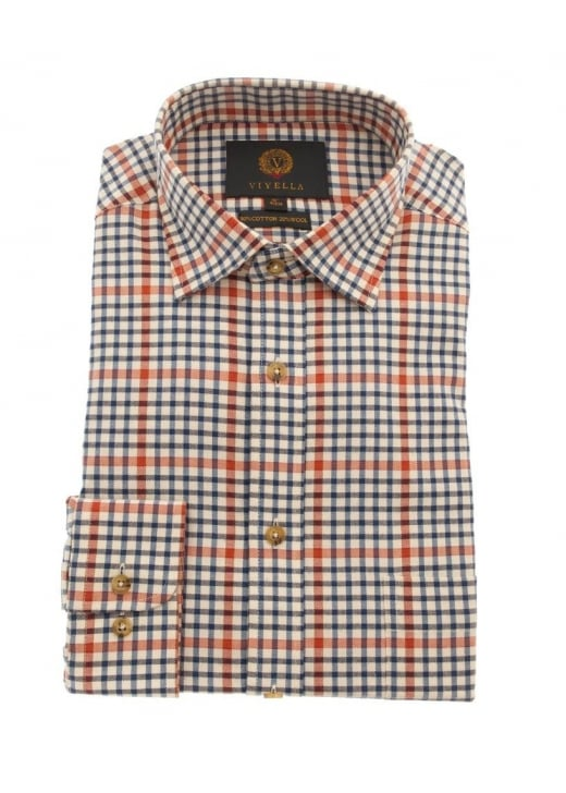 Viyella Window Check Shirt
